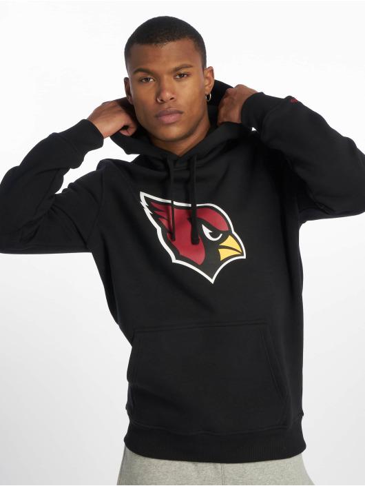 New Era Hoodies Team Arizona Cardinals Logo čern