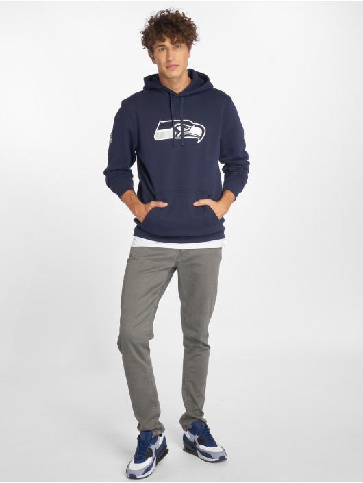 New Era Hoody Team Logo Seattle Seahawks blau
