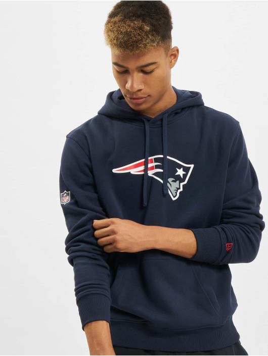 New Era Hoody Team Logo New England Patriots blau