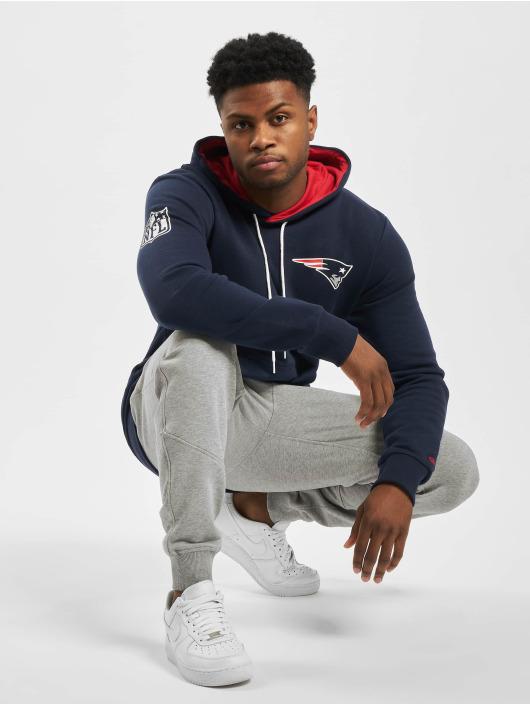 New Era Hoody NFL New England Patriots CHST Pint Team Logo blau