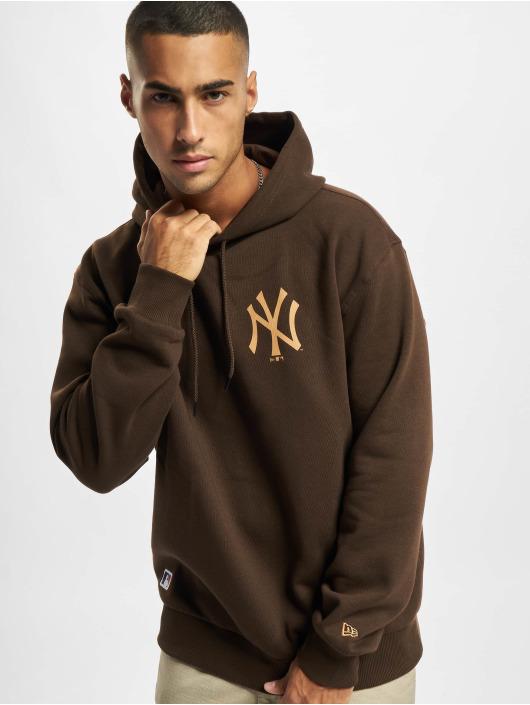 New Era Hoody MLB NY Yankees Oversized Seasonal Color bruin