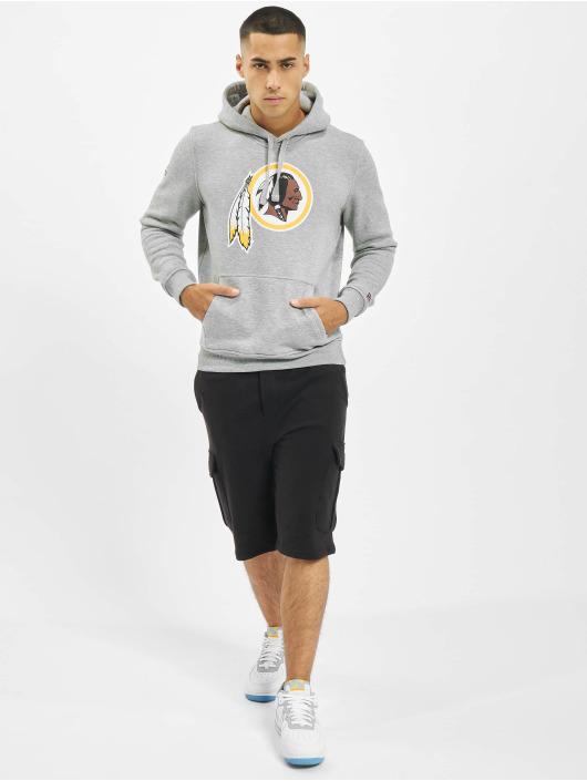 New Era Hoody Team Logo Washington Redskins grau