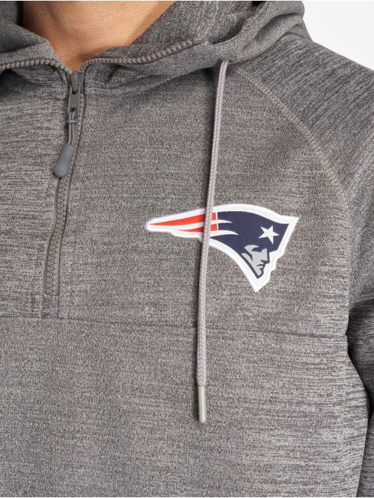 New Era Hoody NFL New England Patriots grau