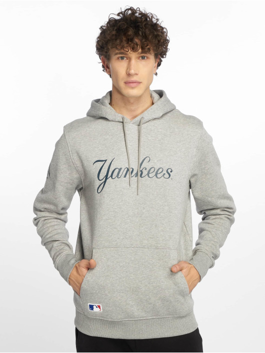 New Era Hoody MLB Team New York Yankees grau