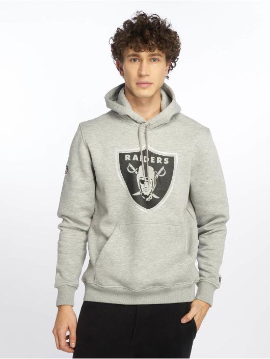 New Era Hoody NFL Oakland Raiders Fan grau