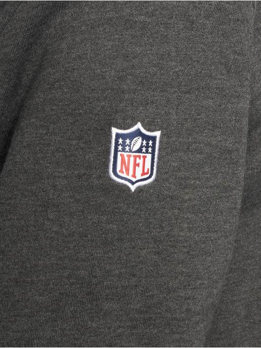 New Era Hoody NFL New England Patriots Fan grau