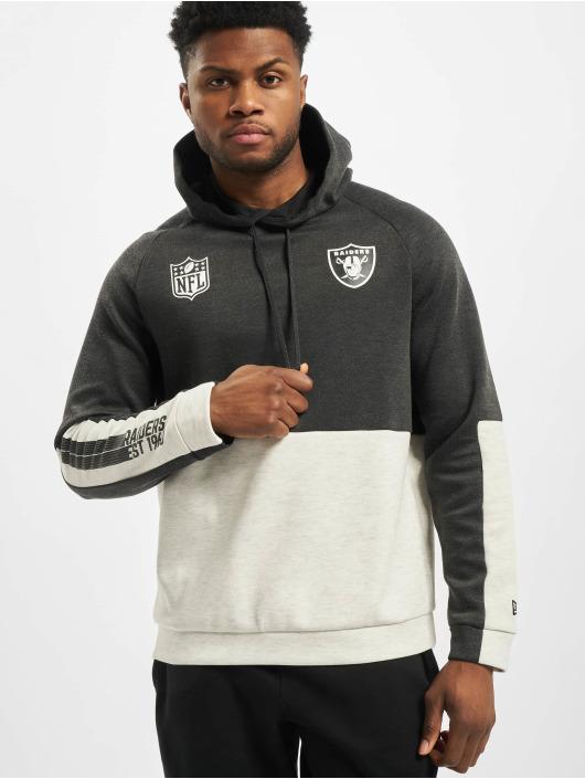 New Era Hoody NFL Oakland Raiders Colour Block grau
