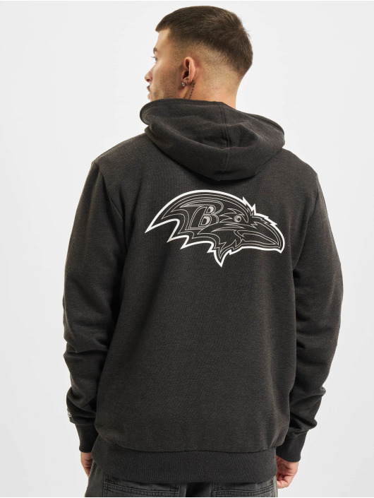 New Era Hoody NFL Baltimore Ravens Outline Logo PO grijs