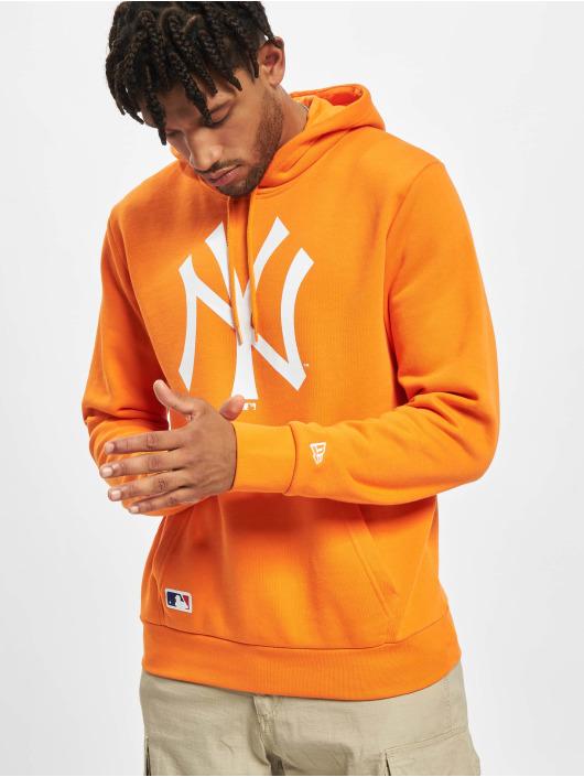New Era Hoody MLB New York Yankees Seasonal Team Logo orange