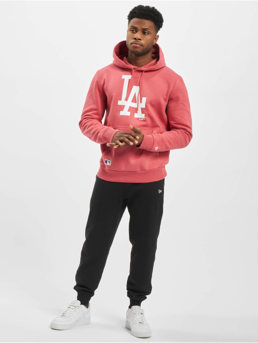 New Era Hoody MLB LA Dodgers Seasonal Team Logo pink