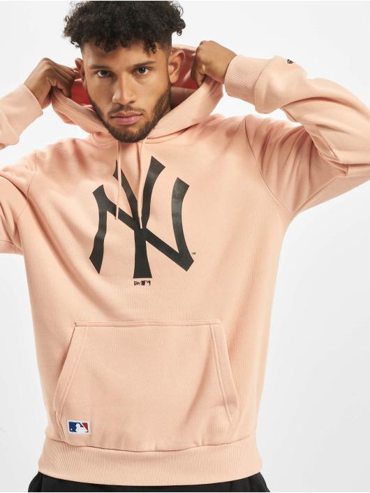 New Era Hoody NY Yankees Seasonal Team Logo rosa