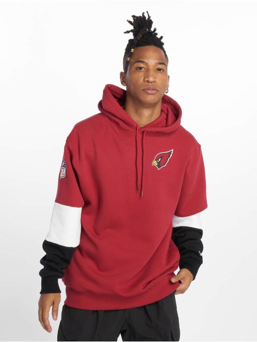 New Era Hoody Nfl Colour Block Arizona Cardinals rot
