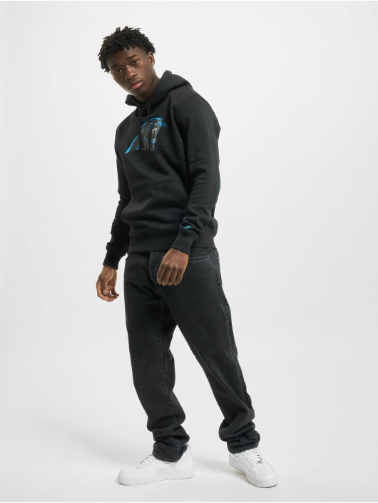 New Era Hoody Team Logo Carolina Panthers schwarz