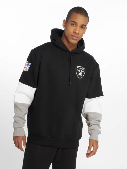 New Era Hoody Nfl Colour Block Oakland Raiders schwarz
