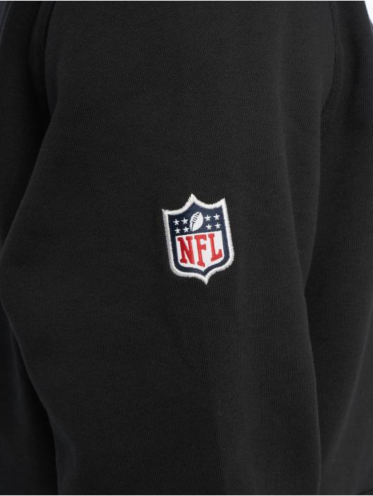 New Era Hoody Team Atlanta Falcons Logo schwarz