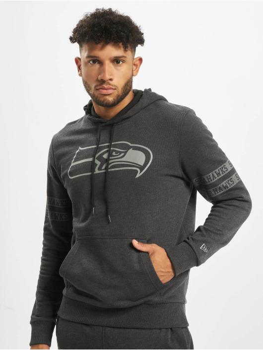 New Era Hoody NFL Seattle Seahawks Tonal schwarz