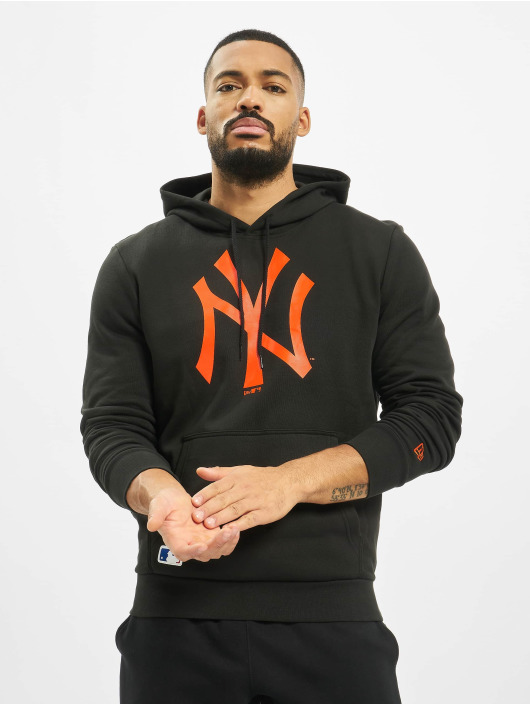 New Era Hoody MLB NY Yankees Seasonal Team Logo schwarz