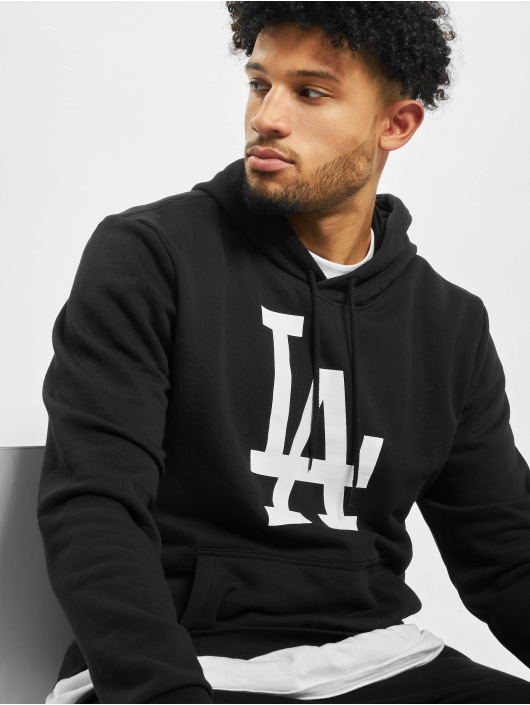 New Era Hoody MLB LA Dodgers Seasonal Team Logo schwarz