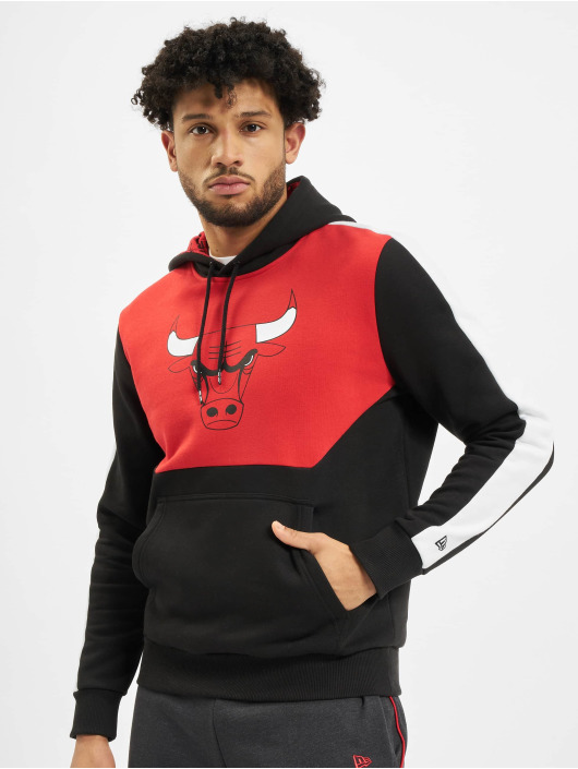 New Era Hoody NBA Chicgo Bulls Colour Block schwarz