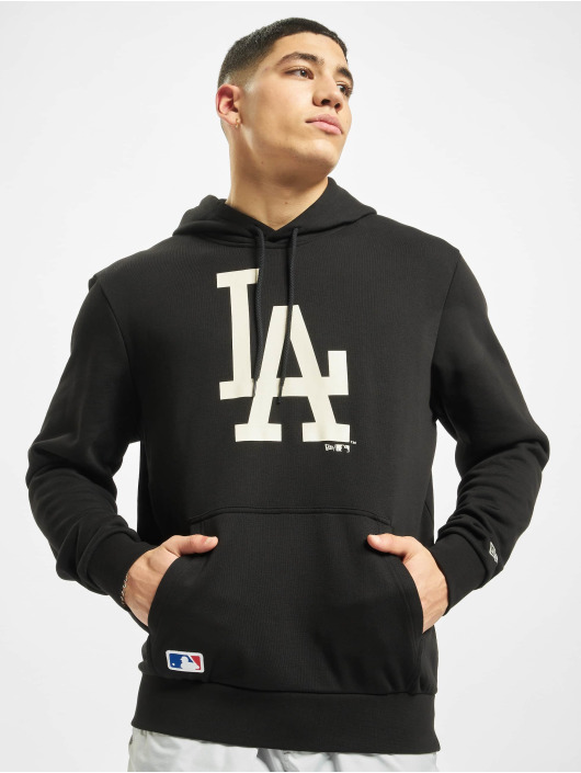 New Era Hoody MLB LA Dodgers Seasonal TM Logo schwarz