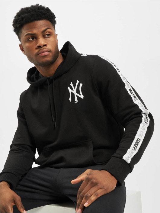 New Era Hoody MLB NY Yankees Sleeve Taping schwarz
