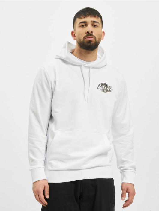 New Era Hoody NBA Los Angeles Lakers Metalic weiß