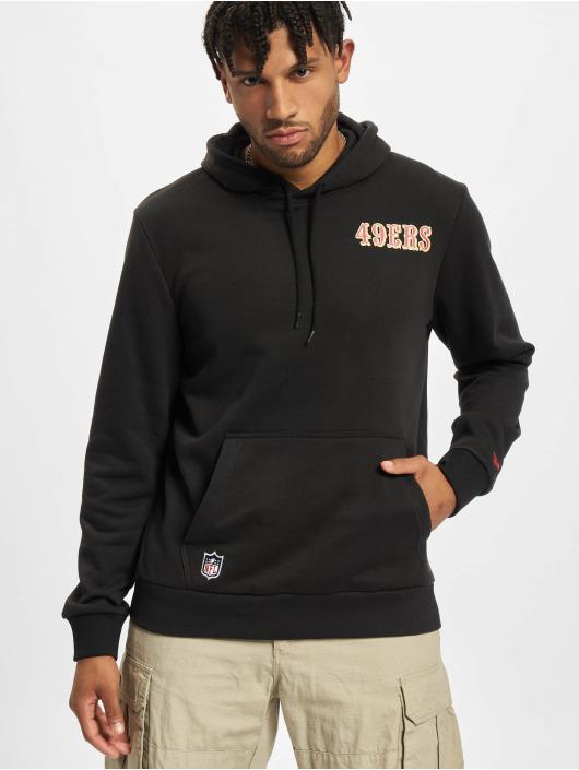New Era Hoody NFL San Francisco 49ers Outline Logo PO zwart