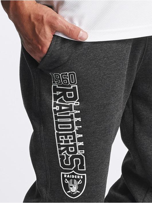 New Era joggingbroek Team Wordmark Oakland Raiders Tracker grijs