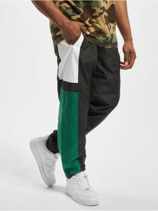 New Era joggingbroek Colour Block zwart