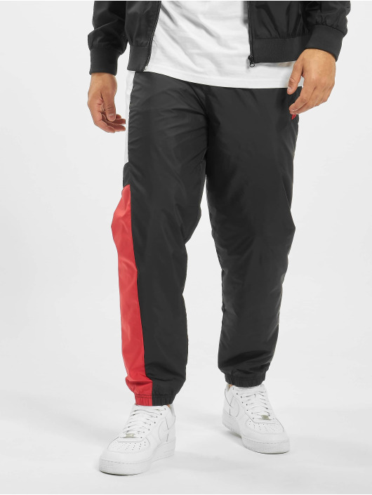 New Era Jogginghose Colour Block schwarz