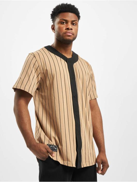 New Era Koszule Heritage brazowy