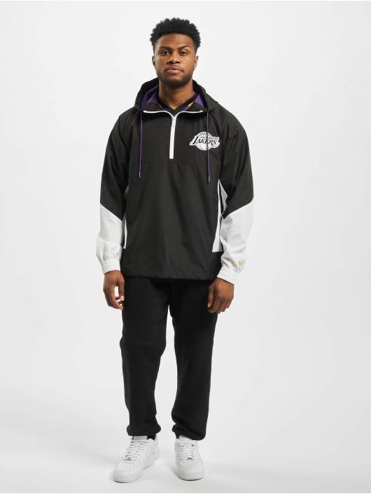 New Era Kurtki przejściowe NBA LA Lakers Print Infill czarny