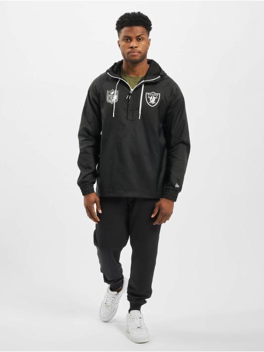 New Era Kurtki przejściowe NFL Oakland Raiders czarny