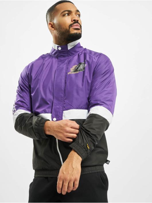 New Era Kurtki przejściowe NBA LA Lakers Colour Block Track fioletowy