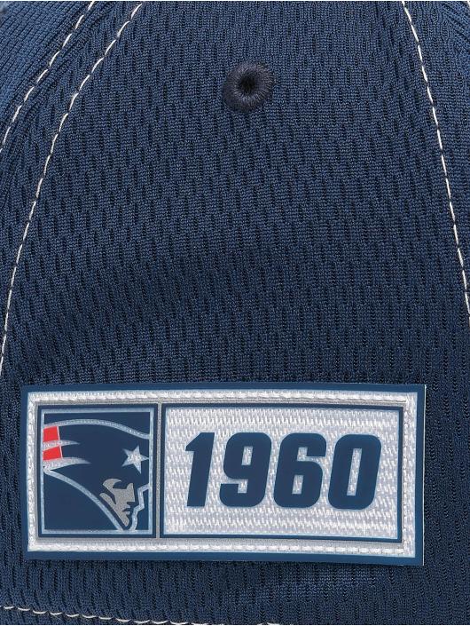 New Era Lastebilsjåfør- / flexfitted caps NFL New England Patriots Onfield Road 39Thirty blå