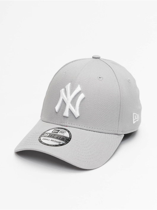New Era Lastebilsjåfør- / flexfitted caps League Basic NY Yankees 39Thirty grå