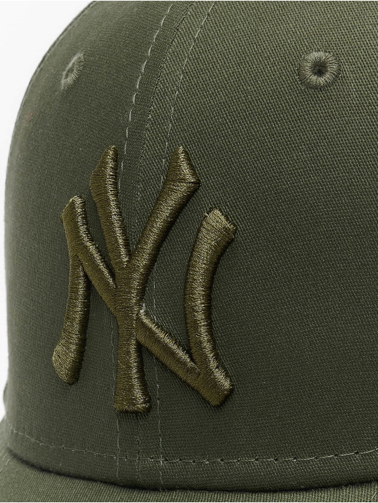 New Era Lastebilsjåfør- / flexfitted caps MLB NY Yankees League Essential 39Thirty oliven