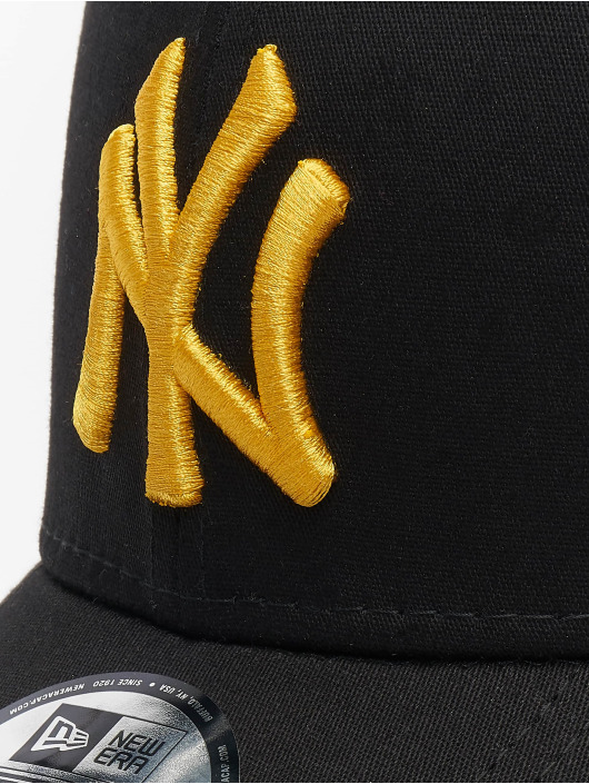 New Era Lastebilsjåfør- / flexfitted caps MLB New York Yankees League Essential 39thirty svart