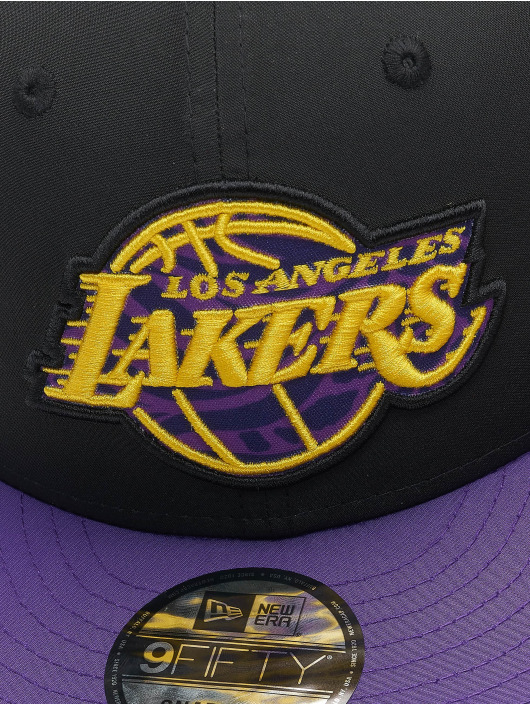 New Era Lastebilsjåfør- / flexfitted caps Team 9Fifty LA Lakers svart