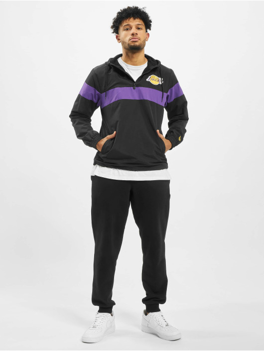 New Era Lightweight Jacket NBA LA Lakers black