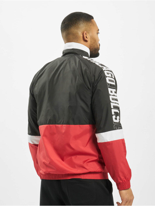 New Era Lightweight Jacket NBA Chicago Bulls Colour Block black