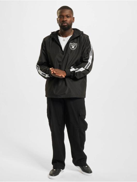 New Era Lightweight Jacket NFL Las Vegas Raiders Taping black