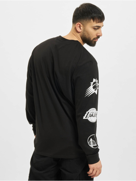 New Era Longsleeve NBA Eastwest Coast Logo schwarz