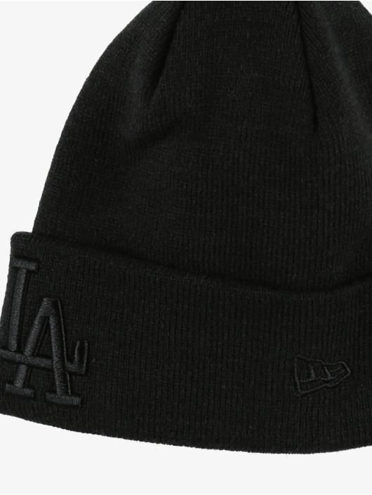 New Era Luer MLB LA Dodgers Team Cuff Knit svart