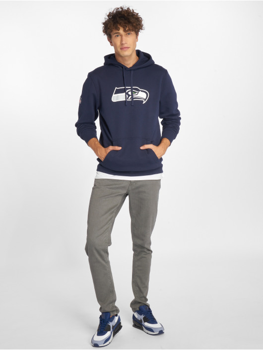 New Era Mikiny Team Logo Seattle Seahawks modrá