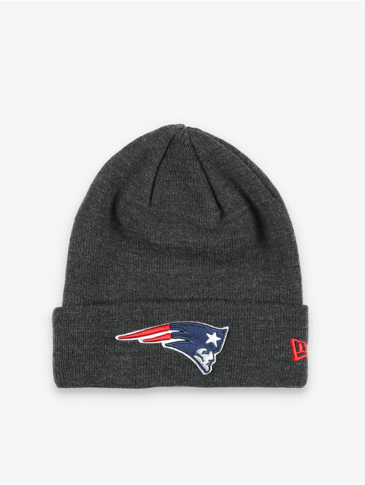 New Era Pipot NFL New England Patriots Heather Essential Knit harmaa