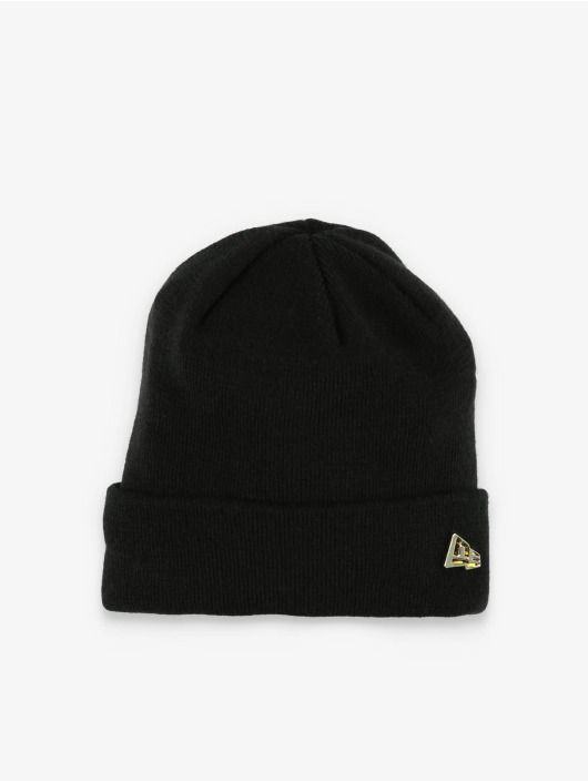New Era Pipot Metal Flag Knit musta