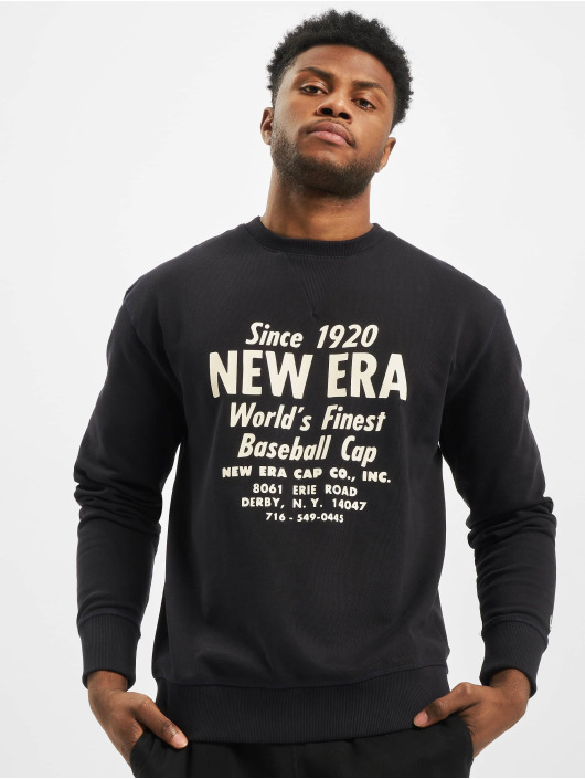 New Era Pullover Established blau