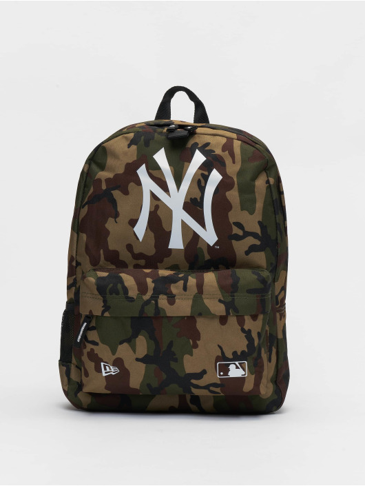 New Era Rucksack MLB New York Yankees Stadium camouflage