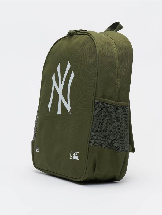New Era Ryggsekker MLB New York Yankees Essential oliven